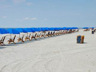 Sea Pines house photo - Beach chairs at the ready on a Saturday morning in Summer