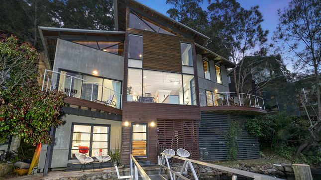 Berowra Waters Glass House