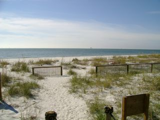 Dauphin Island condo photo - View from sitting on bench at end of boardwalk.