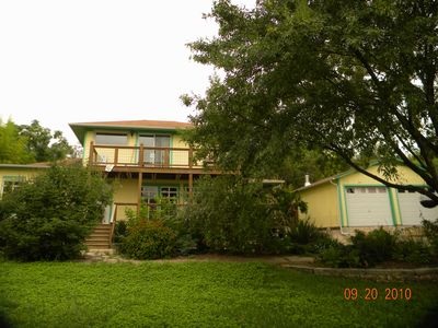 Austin house rental - front of house