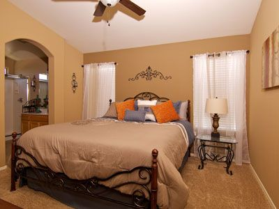 Gilbert house rental - Master Bedroom with a Walk-in Closet and Private Bathroom