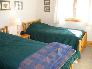 Saranac Lake house photo - One of Two - Twin Bedrooms