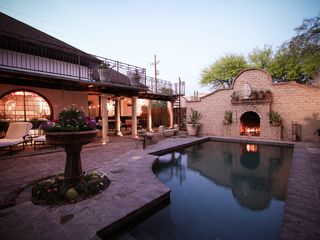 Tucson estate photo - Pool and covered patio