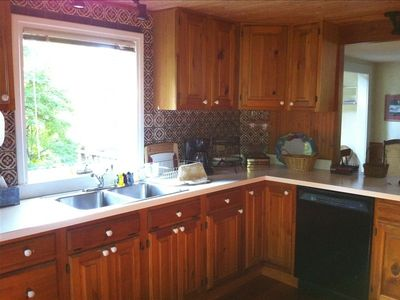 West Falmouth house rental - Kitchen, dishwasher