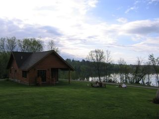 Orr cabin photo - Very cozy 1200 square foot private cabin on 880 acre lake