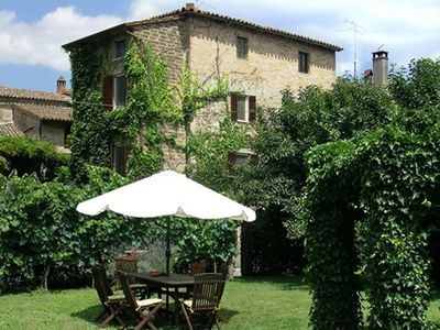 Todi house rental - Casa Greta House and Garden