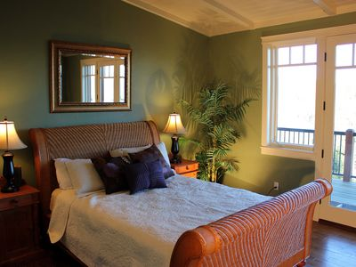 Somers house rental - Our spacious master bedroom