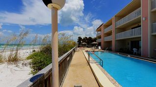 Indian Rocks Beach condo photo - Heated swimming pool on the beach!
