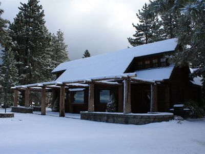 Stateline cabin rental - Main House Winter