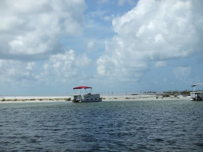 Beach your pontoon for a shore lunch or just explore SHELL Island. Snorkeling