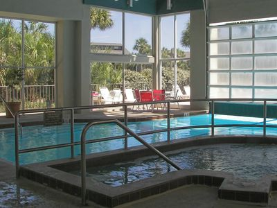 indoor heated pool for the winter months