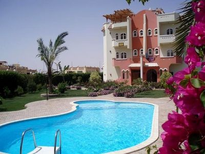 Hurghada apartment rental - Apartment left ground floor with pool