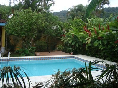 Beautiful house with swimming pool with beautiful leisure area
