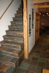 Crested Butte cottage photo - Entry-earth slate stacked tile