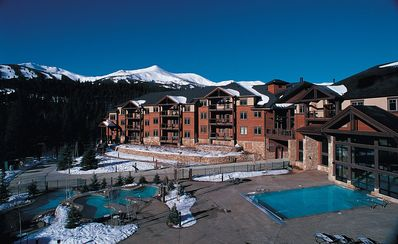 Grand Timber Lodge, Breckenridge, CO. Ski-in/ski-out, 5-star, 2BR condo.