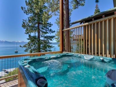 Hot Tub with Gorgeous Lake Views