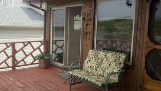 Glider and door to main bedroom - Claytor Lake house vacation rental photo