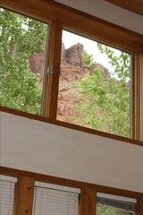 Moab house photo - Wake up to this view in your master bedroom!