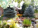 Front Yard with Coy Pond and waterfall - Sandy estate vacation rental photo