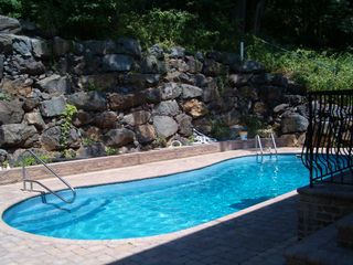 Staten Island house photo - Heated Inground Pool