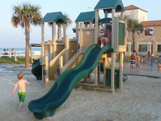 St. Augustine Beach condo photo - Playground across the street from condo next to pier.