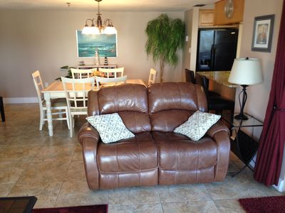 2 recliners in Living room