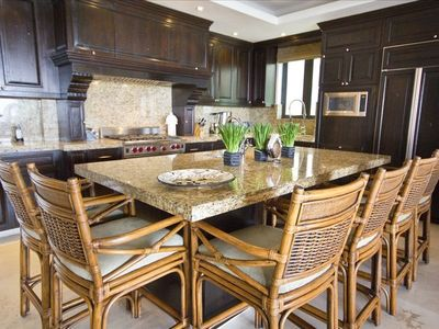 Gourmet Kitchen with top brand appliances