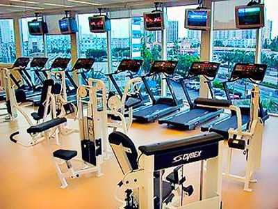 Fitness Center at the Trump International Beach Resort