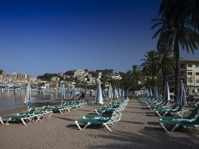 Beach at Port de Soller