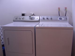 Aruba condo photo - Washer and dryer inside the resort