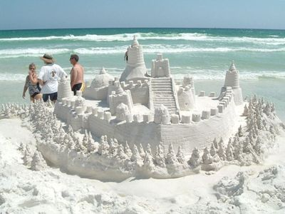 You never know what magic you may find on these powder white sands!