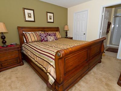 Second Master with King Bed and Private Bath