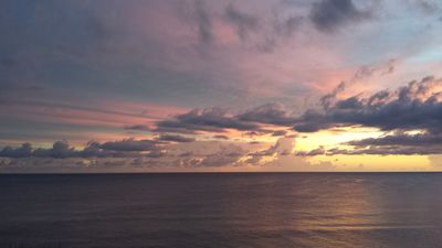 Amazing Views Of Sunsets From Your Private Balcony And Lanai!