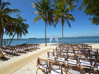 Wedding Extraordinaire! Key Largo Lighthouse Beach style.
