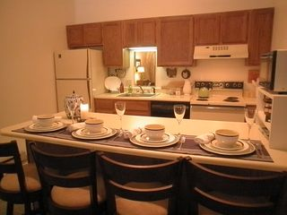 Pittsfield condo photo - New chairs that swivel to enjoy the woodstove or watch a movie!