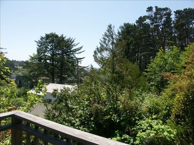Lincoln City house rental - Peek-a-boo view of the Ocean