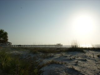 Tybee Island condo photo - Sunday morning on 17th Street