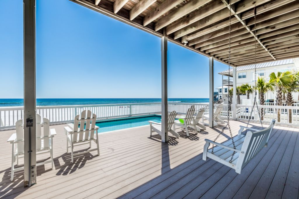 Secluded gulf front beach home w stunning vrbo for 9 bedroom vacation rentals