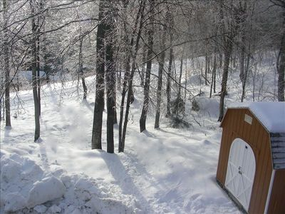 Ski on and off of Great Eastern Trail!! Best location on Mountain!!