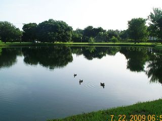 Vero Beach house photo - Peaceful lake view at clubhouse, with 1/2 mile walking trail around ponds.