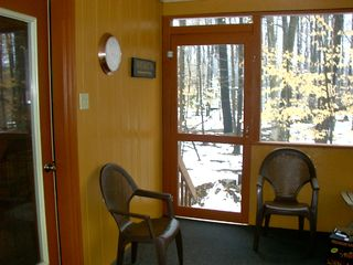 screen room - Arrowhead Lake chalet vacation rental photo