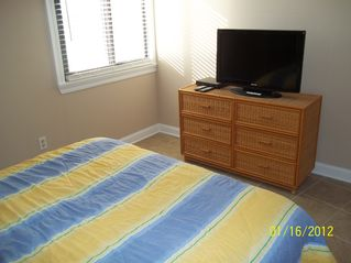Gulf Shores condo photo - 2nd bedroom ... every room has new HD flat screen tvs.