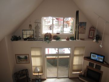 View from second floor loft
