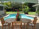 Lanai Pool Area - Kailua house vacation rental photo