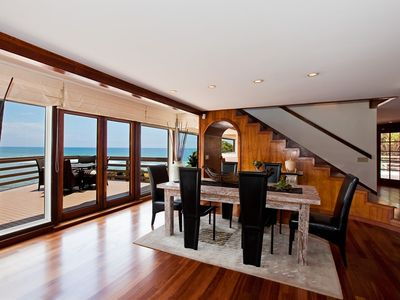 Dining Area with Panoramic Views!