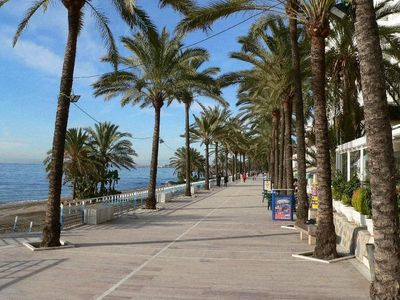 surrounding: Marbella sea promenade