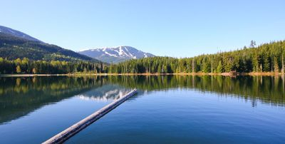 Lost Lake in Whistler, British Columbia
