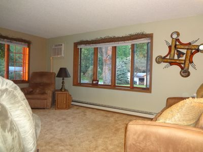 Lake Winnebago house rental - Living Room