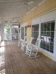 Daufuskie Island villa photo - Porch Sitting - a bonafide passtime!