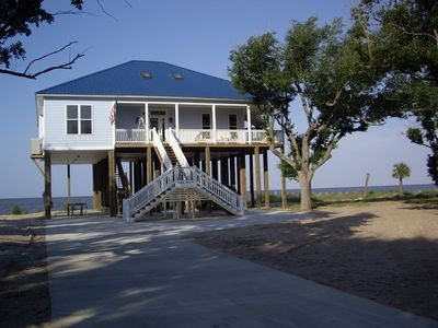 Ocean Springs house rental - Sunset Pointe from Bellefontaine Drive